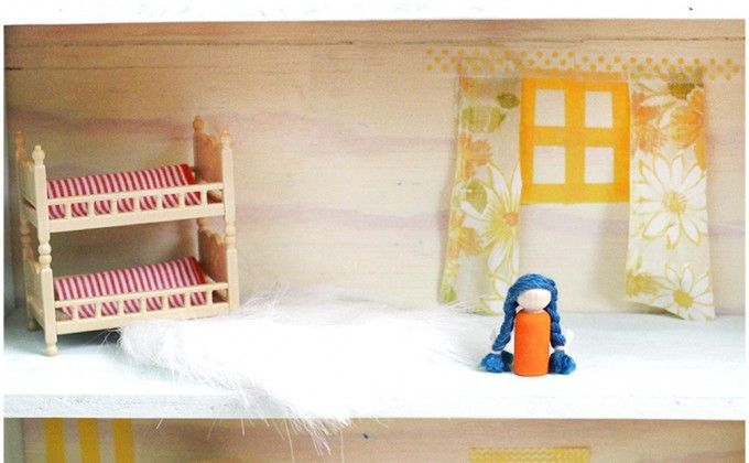How To Make Attractive Art Of DIY Wooden Dollhouse, For Your Child At Home, So, Develop Imagination Aa