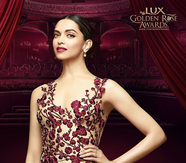 Here's another one of ❤ @deepikapadukone from the LuxGoldenRose.  #DeepikaPadukone #Deepika #Bollywood #Hollywood #Lux