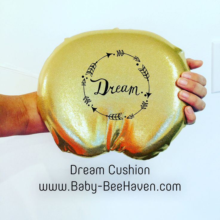 Dream Cushion Memory Foam Pillow with Slap Band  Baby-BeeHaven