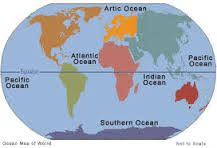 Songs to learn the oceans and continents of the world
