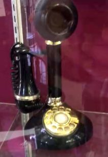 """Did you know Alexander Graham Bell, inventor of the telephone, originally proposed answering with """"Ahoy""""! For upcoming auction dates please visit: http://ccs4u.org/shopping/"""