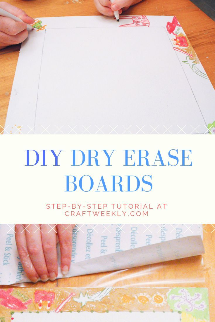 Diy Whiteboard Step By Tutorial With Images Dry Erase