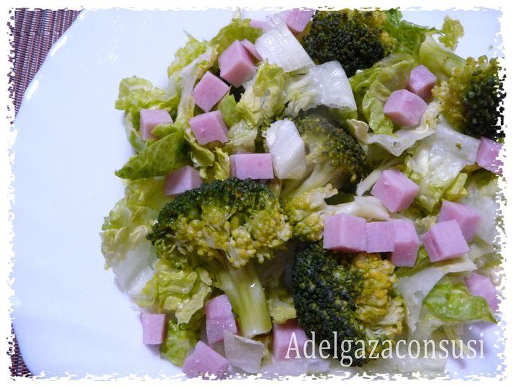 Una manera más de comer verdura de forma equilibrada. Este plato es ideal para una cena rápida acompañado de un yogur o fruta y un poq...