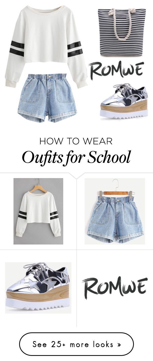 """Back to School, yes?"" by romwe on Polyvore"