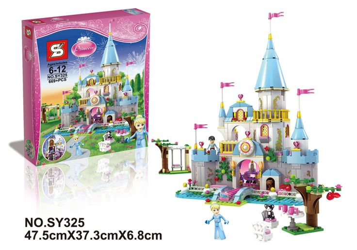 SY325 Friends Fairy Tales Series Castel Hot Sale Minifigure Building Block Toys Compatible Legoe //Price: $US $37.76 & FREE Shipping //     #toys