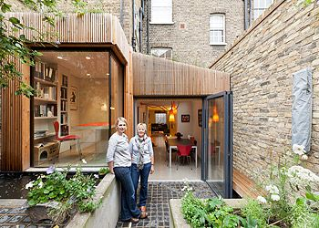Our home: converting gloomy basement flats