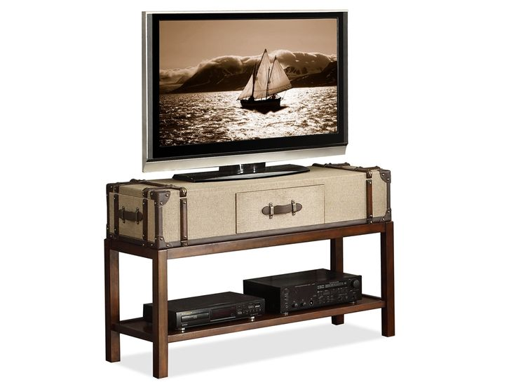 Riverside home entertainment suitcase sofa table 22615 - Norris furniture interiors fort myers fl ...