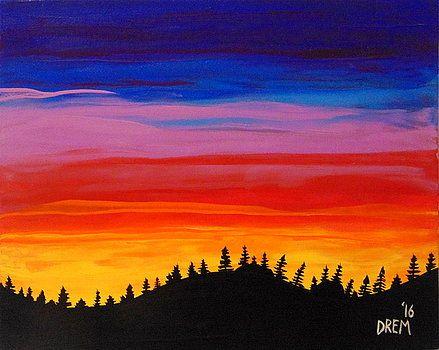 Vibrant Blaze by David Manicom