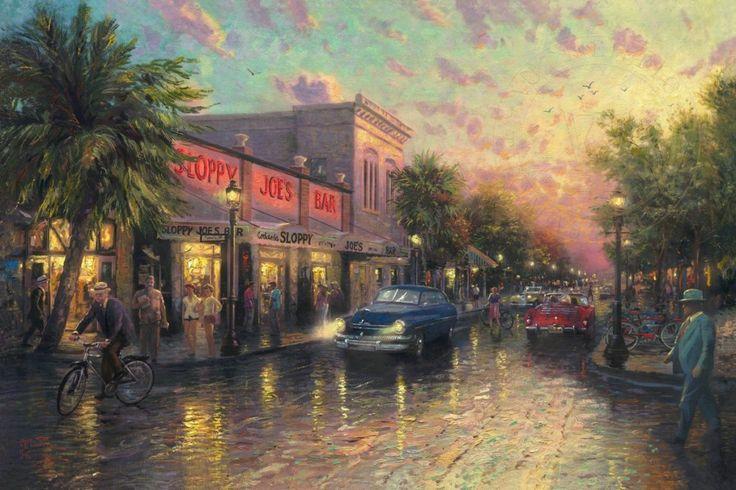 Key West by Thomas Kinkade