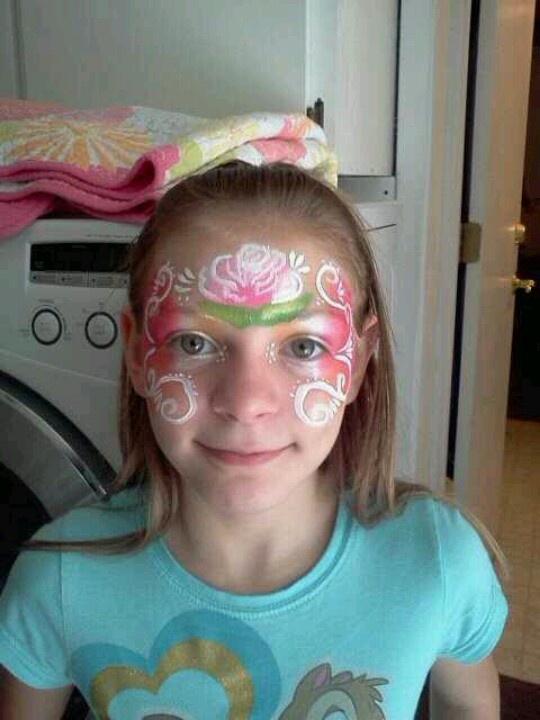 Rose face design