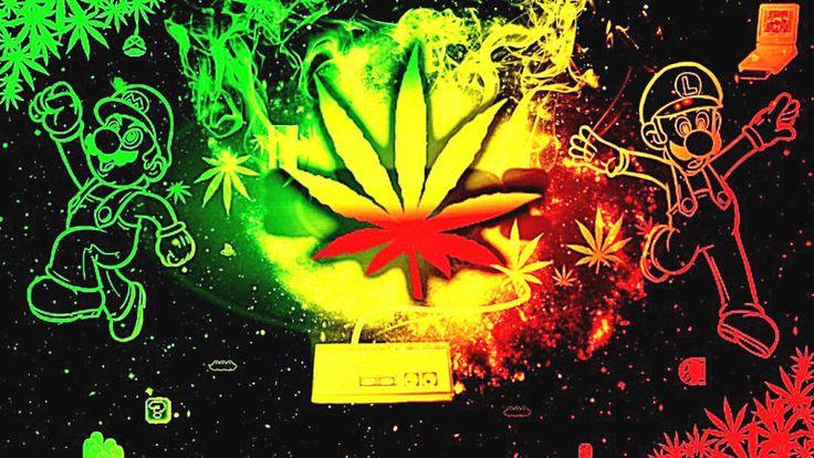 "3.25"" Funny Marijuana Mario Bros. Weed STICKER. Nintendo, For your Bong or pipe  #ad"