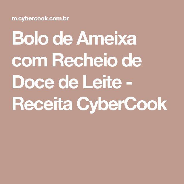Bolo de Ameixa com Recheio de Doce de Leite - Receita CyberCook
