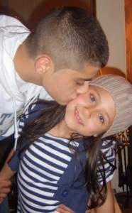 Zayn Malik with his youngest sister :*