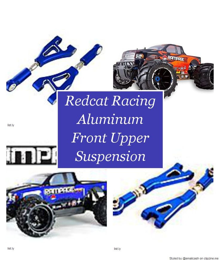 Redcat Racing Aluminum Front Upper Suspension Arm | Cheap 1/5 Scale Gas RC Truck • DealeryDo, Redcat Racing Aluminum Front Upper Suspension Arm, Blue, Rampage XTE by Redcat Racing 1/5 Scale, and...