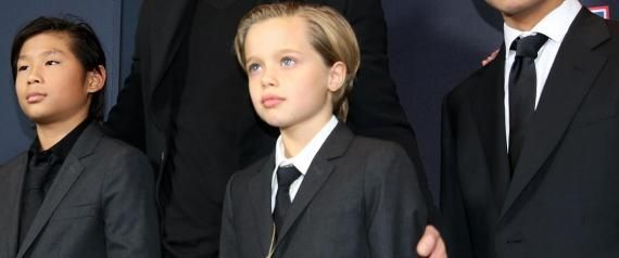 Shiloh Pitt Jolie, 2014