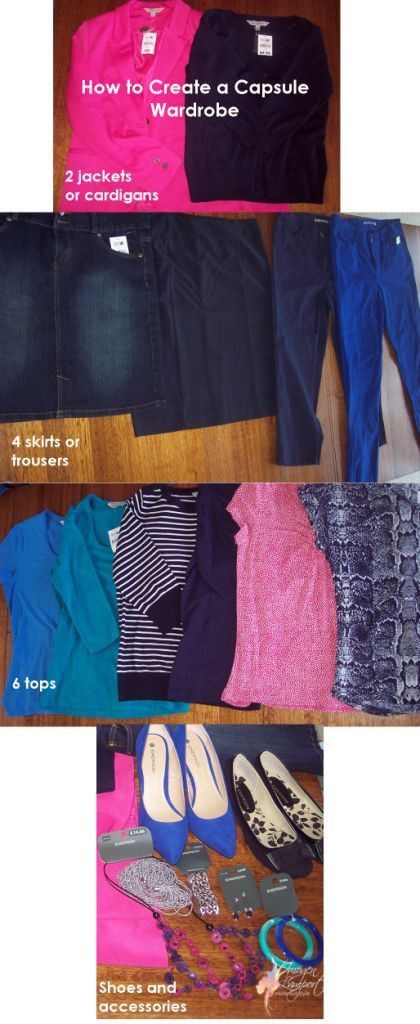 How to Create a Capsule Wardrobe. Perfect. I have no idea how to dress myself.