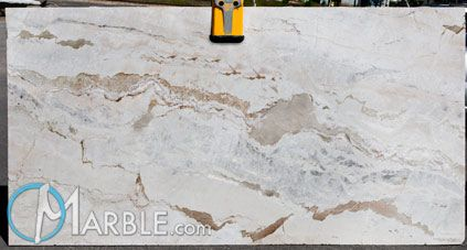 White With Brown Veins Granite Countertops Kitchen