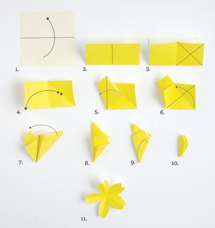 oltre 1000 idee su fleur en origami su pinterest origami fiori di carta e adeline klam. Black Bedroom Furniture Sets. Home Design Ideas