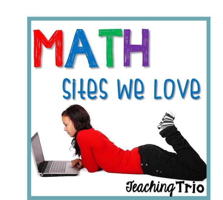 Teaching Trio: Math Sites I Love {Tech Thursday}