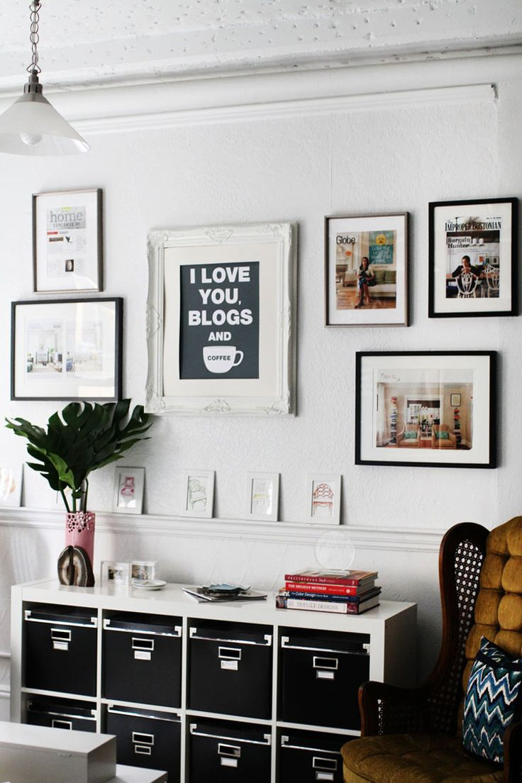 18 best Black and White Rooms images on Pinterest | Kitchens ...