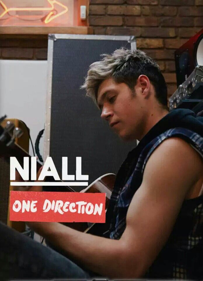 Niall Horan at the photoshoot