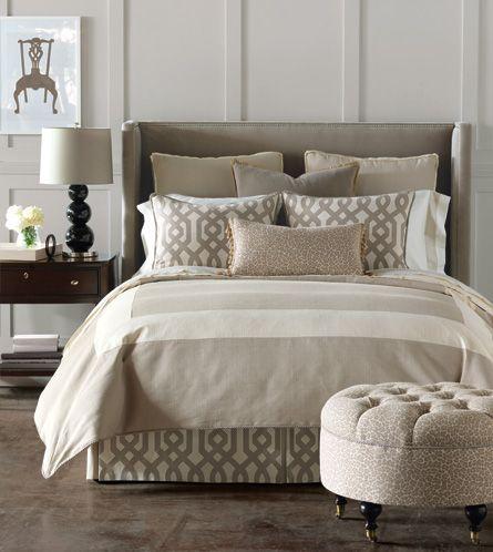 beautiful bed dressing
