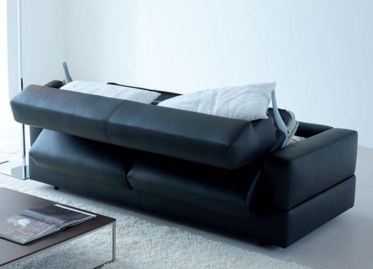 Large Sofa Bed Thick Mattress