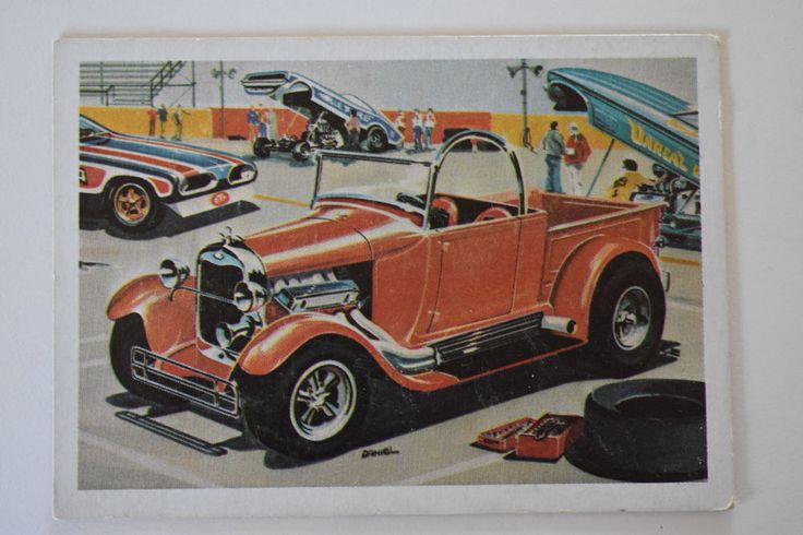"monogram model card 'BOSS ""A"" BONE' 1970, Monogram Models, Monogram Model Cars   Collectibles, Non-Sport Trading Cards, Vintage Non-Sport Cards   eBay!"