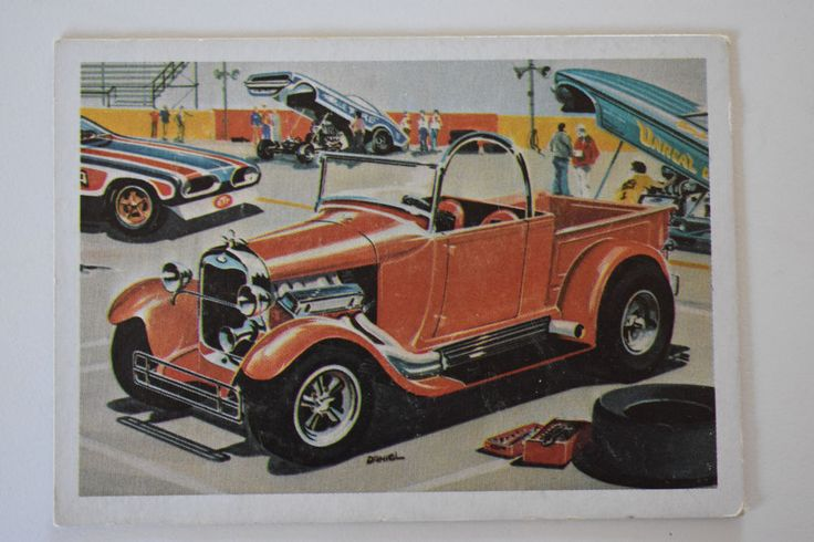 "monogram model card 'BOSS ""A"" BONE' 1970, Monogram Models, Monogram Model Cars 