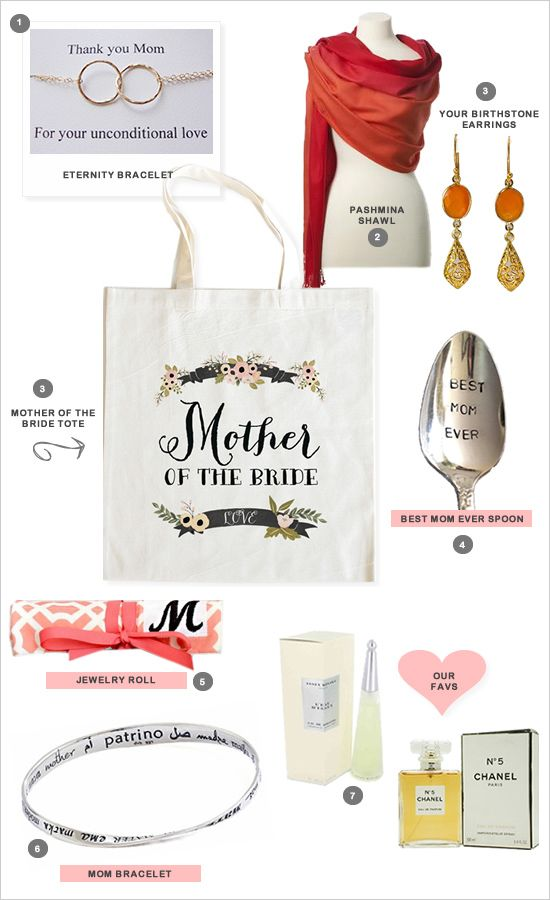 wedding gifts for Mom