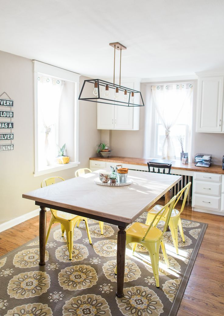 With the help of the East Coast Creative, this old farmhouse dining room is transformed into a casual, multipurpose space. Check out the projects - big and small - that make this dining room a timeless entertaining space at the heart of this home.