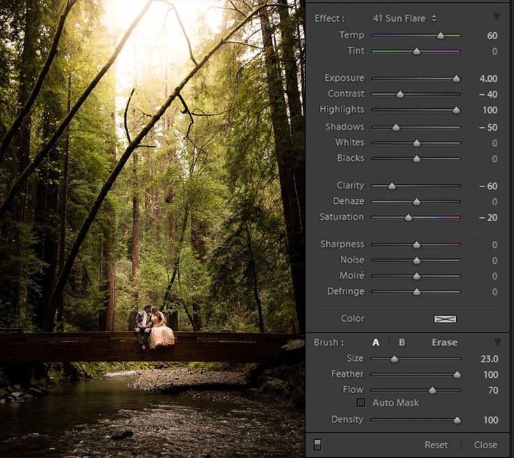 No sun? No problem! Find out what tool we use to create a natural sun flare in Lightroom.