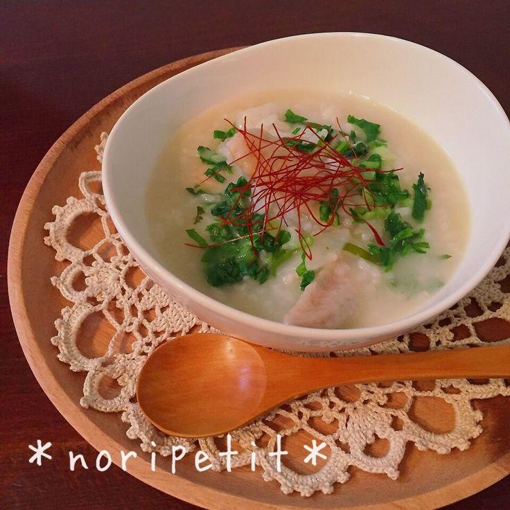 炊飯器de簡単♡美味しい♡参鶏湯風 七草粥 by のりP (noripetit) | レシピサイト「Nadia | ナディア」プロの料理を無料で検索