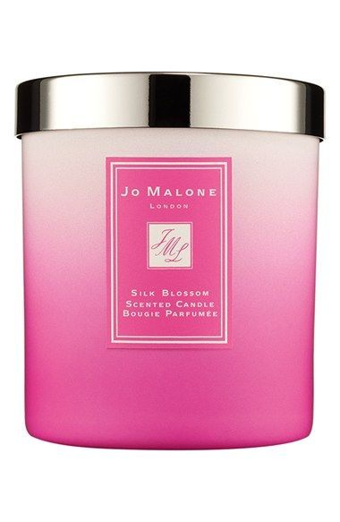 Add this bright #Jo Malone Silk Blossom Candle to your entryway for a touch of #glamour.