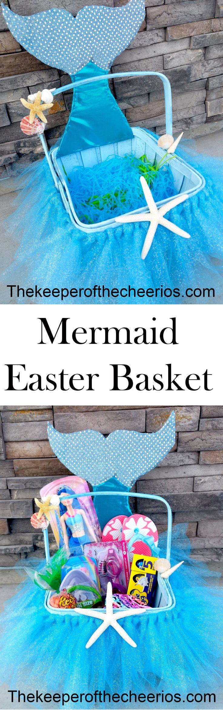 Mermaid Easter Basket
