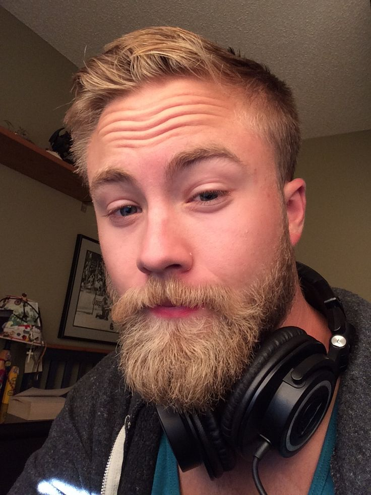 I have had my blonde beard for a year now! It has had many shapes and sizes, and I love it!