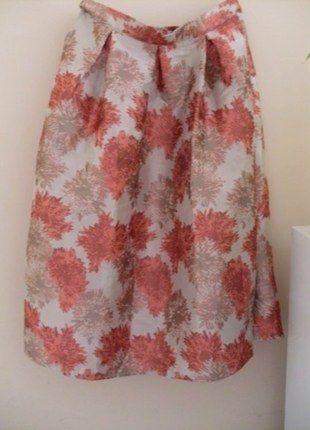 Kup mój przedmiot na #vintedpl http://www.vinted.pl/damska-odziez/spodnice/14912895-spodnica-midi-wizytowa-floral-print-wesele-zakard-true-decadence-exclusive True Decadence Full Prom Midi Skirt In Floral Jacquard