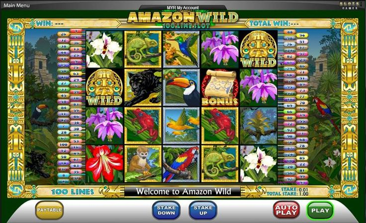 Slot ' Amazon Wild ' Play exciting and featured online
