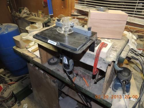 13 best if i save i can images on pinterest dutch ovens dremel rotary tool shaperrouter table to sand edge groove and slot the home depot greentooth Images
