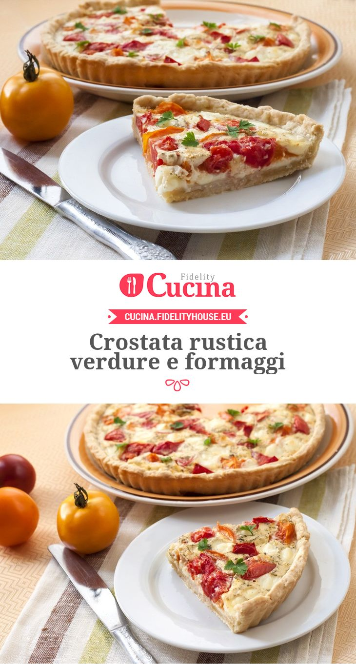 Crostata rustica #verdure e #formaggi
