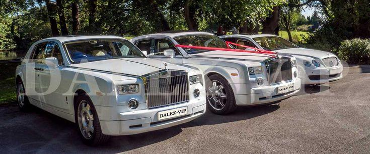 Элитное авто белого цвета на свадьбу