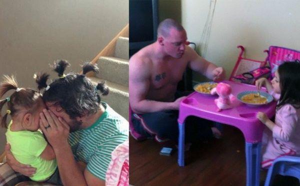 *-* Ak necháte osamote otcov s ich deťmi, určite sa spolu dokonalo zabavia a vyparátia veľa vylomenín.