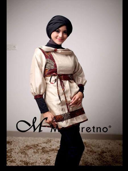 Atasan Batik Modern Wanita