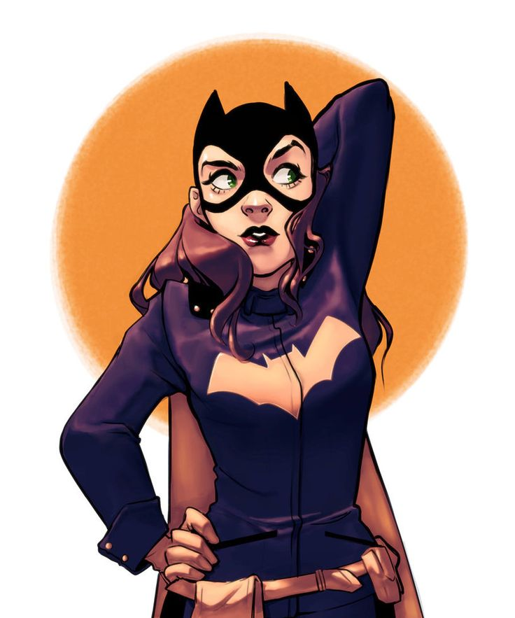 Practice - Batgirl by KHAN-04.deviantart.com on @DeviantArt - More at https://pinterest.com/supergirlsart/ #dc #comics #art