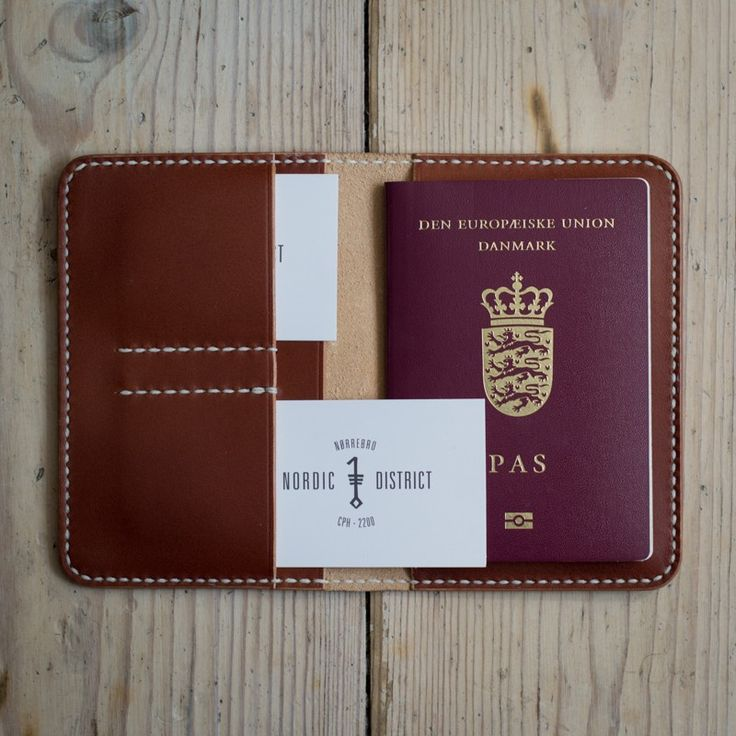 'Heimdallr' Passport Carrier - Chestnut via NORDIC DISTRICT. Click on the image to see more!