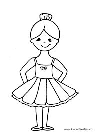 Afbeeldingsresultaat voor ballerina tekening