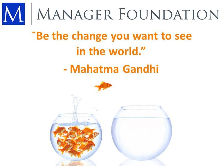 Be a Leader...
