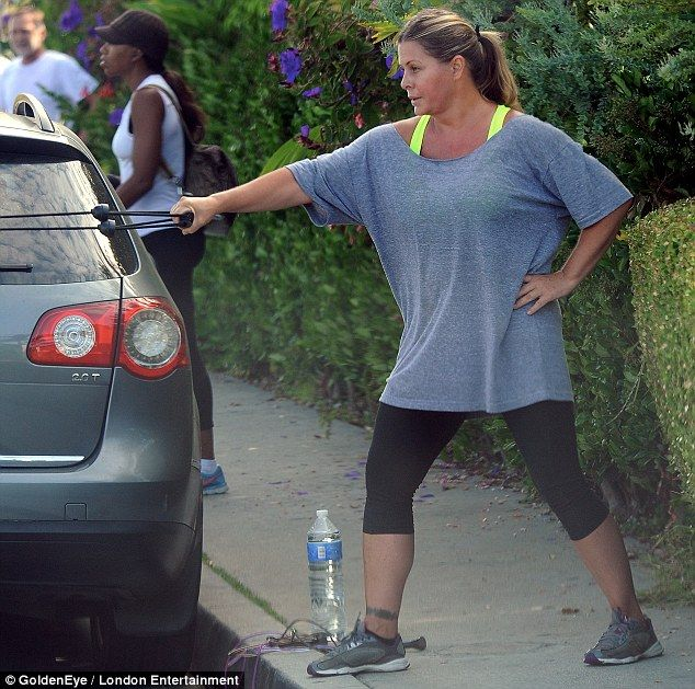 Nicole Eggert - Even celebrities have to work at it!