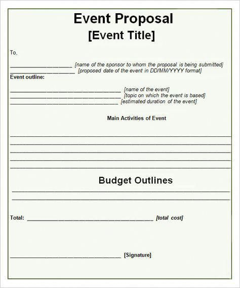 Event-Propsal-Template #corporateeventplanning Event Planning Tips