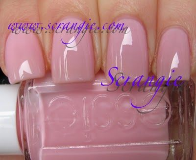 Pop Art Pink. A really light milky jelly pastel pink. It's like a pink version of Marshmallow. This one is pretty versatile because at one coat it's a sheer-clear pink gloss, barely any color on the nail at all, at two coats it's a semi-sheer milky natural looking pink and at three coats (pictured here) it's a nice jelly milky pink. So, if french manicures are your thing, this would make a good base color. I like it at three coats, myself. It looks squishy and cute.
